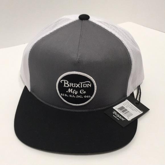1eba50b2df Brixton Accessories | Nwt Mfg Co Snapback | Poshmark